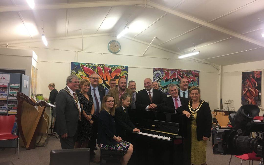 Cabinet Secretary for Education visits WMC