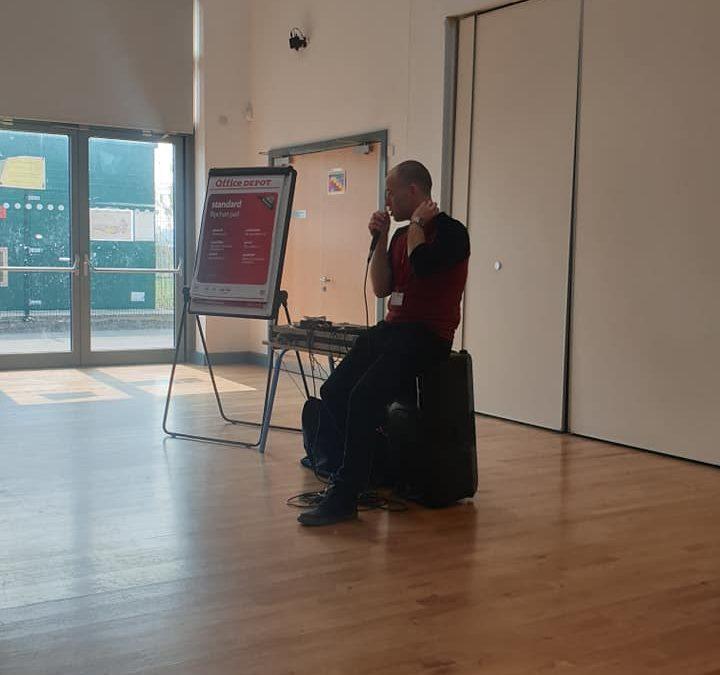 Mr Phormula visits Wrexham Schools
