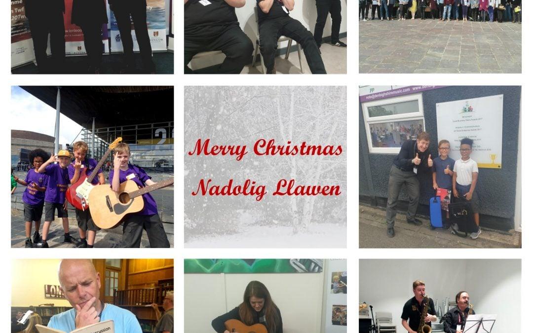 Merry Christmas / Nadolig Llawen